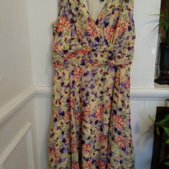 628476b53b054 George Dresses | Pretty Feminine Soft Summer Spring Dress | Poshmark